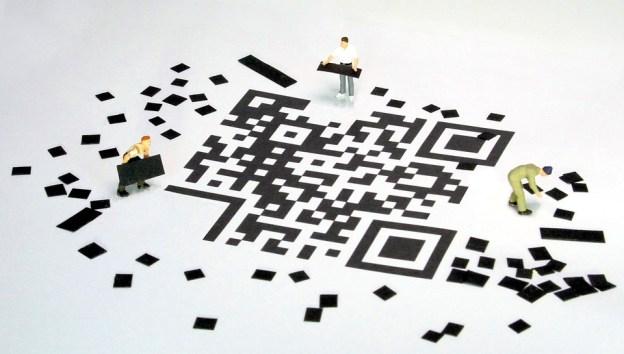 Qr Code, Code À Barres, Figurines, Carreleur