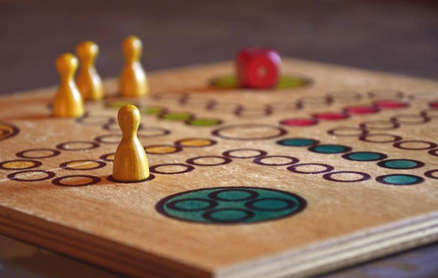 Play, Board Game, Human Don'T Be Angry, Figures