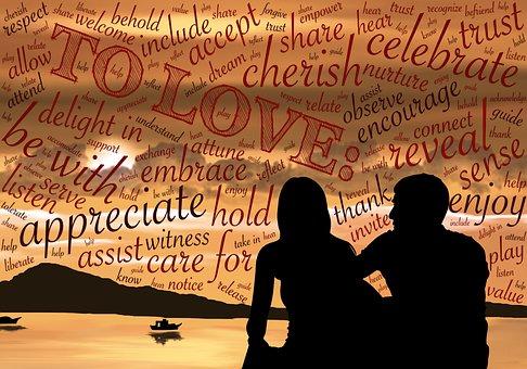 一緒, 関連, 愛, 聞く, 思いやりのあります, 大切に, 価値, リラックス