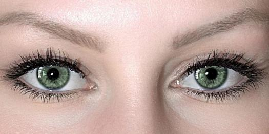 Occhi, Paio Di Occhi, Verde, Make Up, Coperchio, Iris