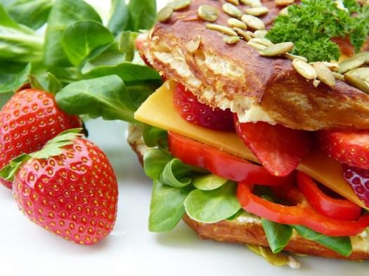 Sandwich, Insalata, Vegetariano, Formaggio