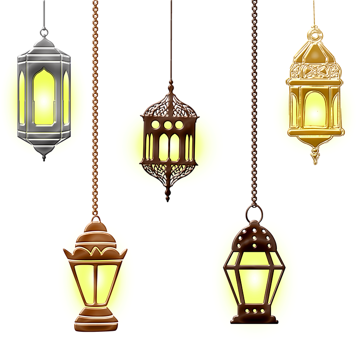 Hanging Lamp with Long Fixture