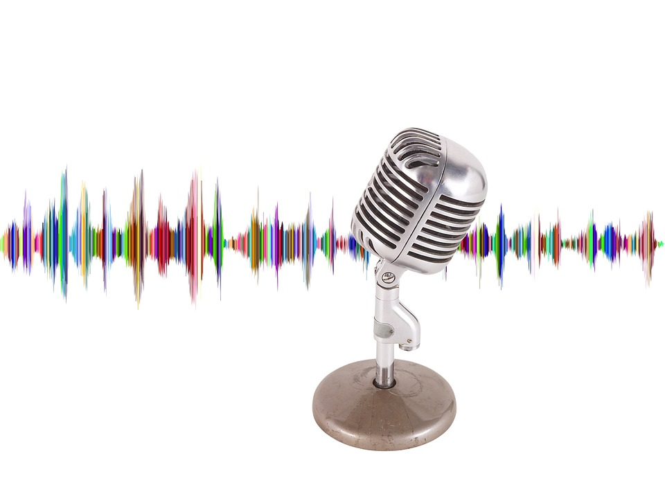 Podcast, Microphone, Wave, Audio, Music, Recording