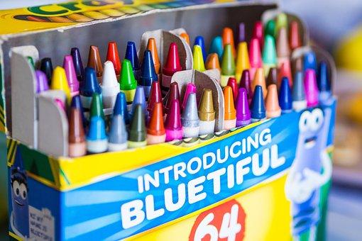 Crayons, Color, School, Colorful