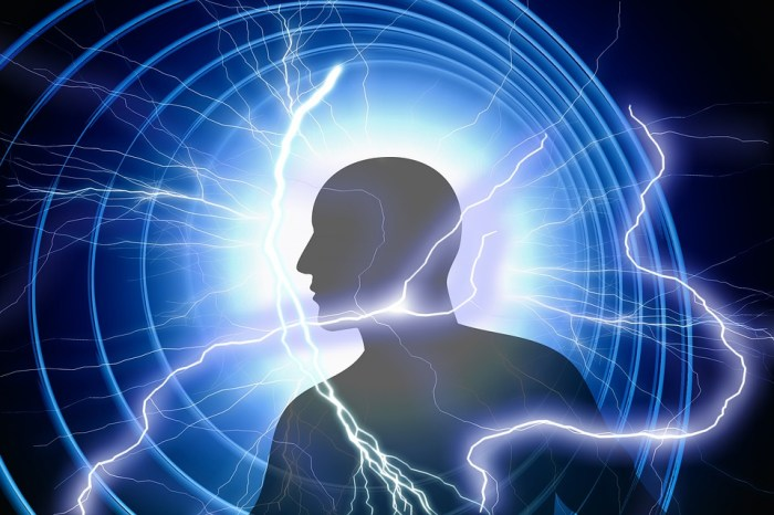 Energy, Man, Silhouette, Current, Energy Field, Flash