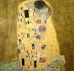 Klimt, Gustav Klimt, Kiss, Love, Gustav, Figure