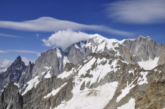 Mont Blanc, Masiva, Snow, Alpes, Montaña, Paisaje