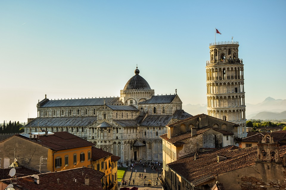Pisa, Leaning Tower, Italy, Architechture, Travel