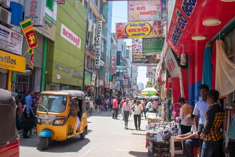 Colombo city marketplace