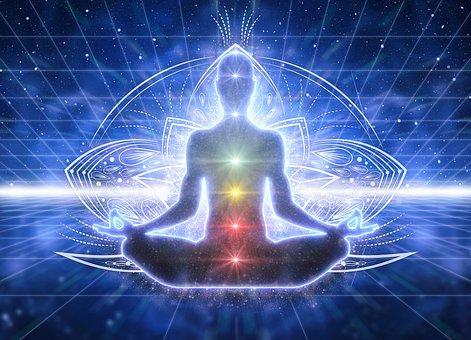 スピリチュア リズム, 覚醒, 瞑想, ヨギ, オーラ, 精神的です, チャクラ