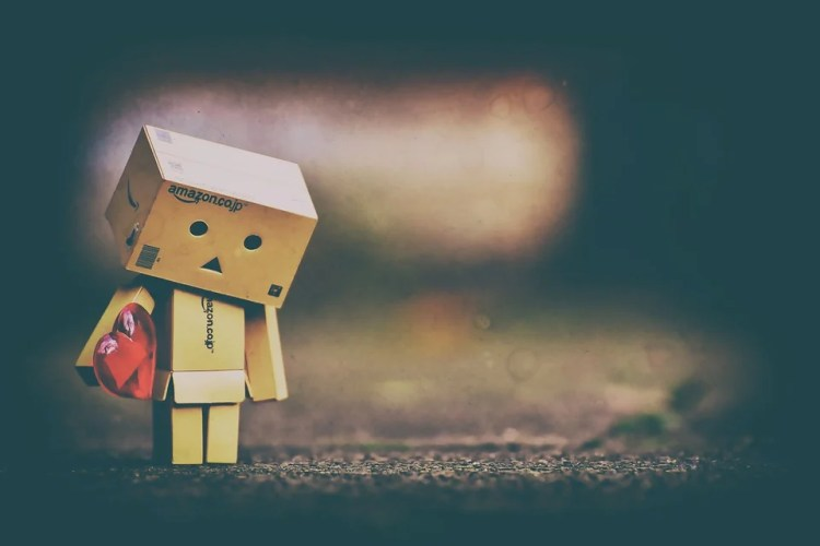 Sad, Longing, Love, Danbo, Danboard, Figure, Cute