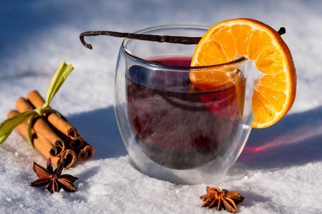 Winter, Schnee, Kalt, Tee, Wein, Glühwein, Gewürze