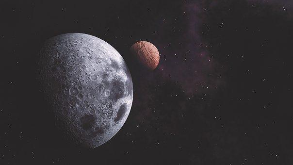 Universe, Space, Orange, Astronomy, Sky