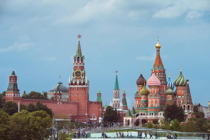 Russia, Moscow, Red Square, Church, St Basile