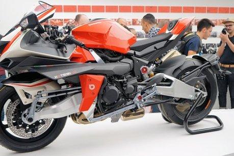 Biker, Eicma, Moto Bike, Ciclomotore