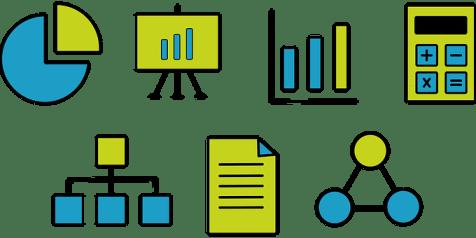 ファイナンス, 電卓, プロセスアイコン, プロセス, 売上図, 売上目標