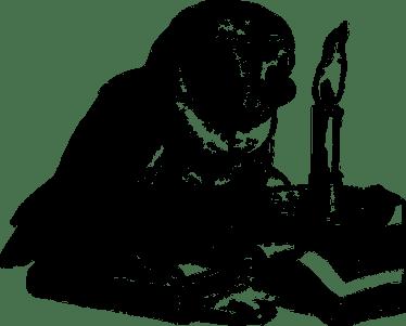 フクロウ, 読書, 本, 鳥, 研究, 動物, ライン アート, 知恵