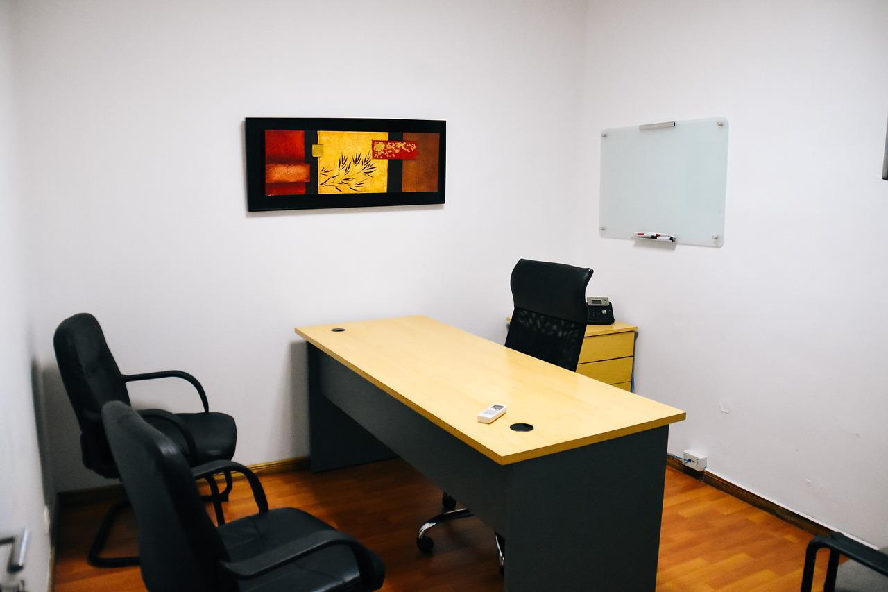 Small Office Desk Free Photo On Pixabay