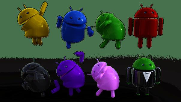 Android, Logo, Bot, Minibot, Mobile
