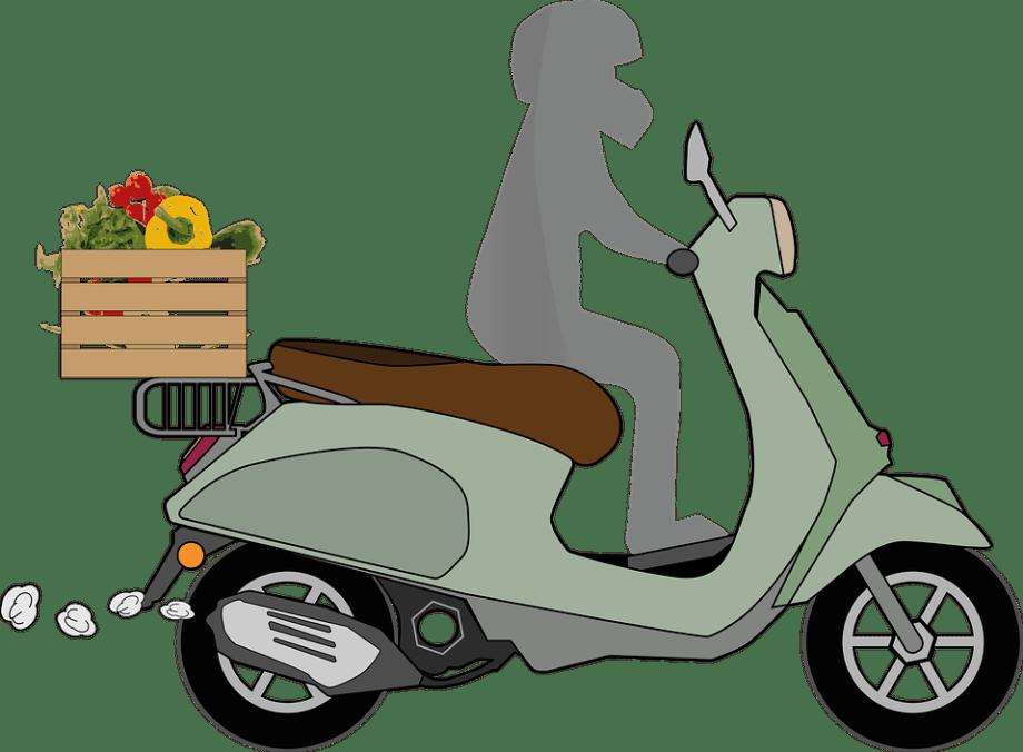Vespa Delivery Service - Free image on Pixabay