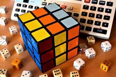 Cubo De Rubik, Cubo, Rubik, Dos Dados, Pc, Sorte, Mente