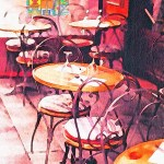 Watercolor Cafe Paris Bistro Free Image On Pixabay