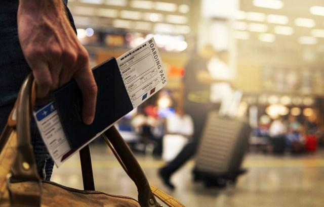 Viagens, Aeroporto, Cartão De Embarque, Embarque