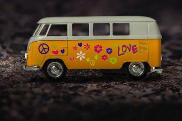 Vw, Bus, Vecchio, Bulli, Auto