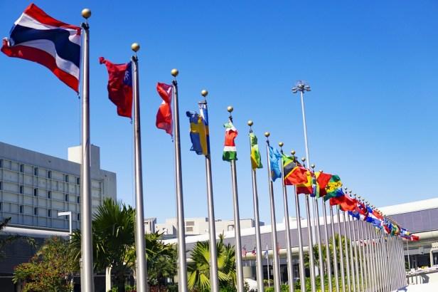 International, Flags, Un, World, Global, Meeting