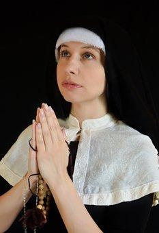 Nun, Cosplay, Cross, Vera, Religion