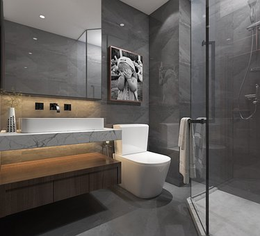 アパート, インテリア デザイン, 屋内で, 装飾, ルーム, ハウス, 室内