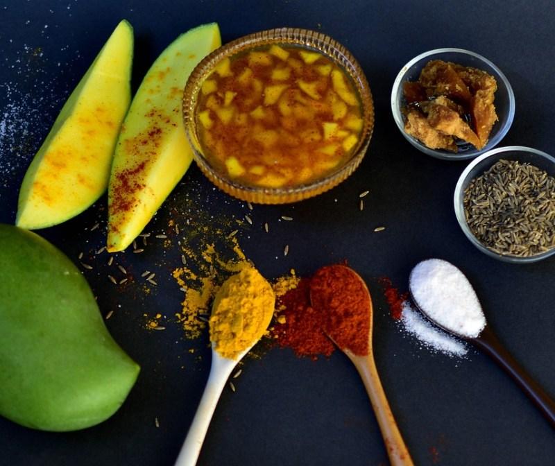 Pickle, Pickles, Mango, Food, Green, Raw Mango