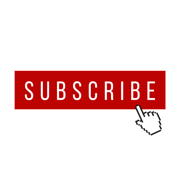 Subscribe, Button, Red, Internet, Subscription