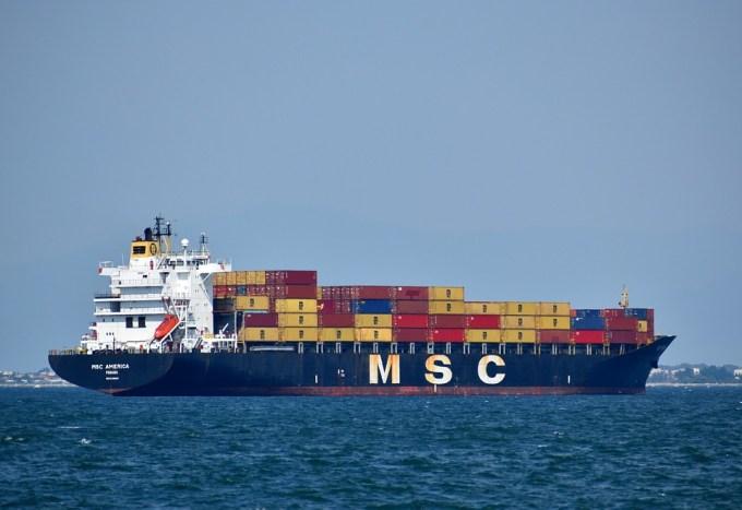 Navire, Fret, Récipient, L'Industrie, Transport, Mer