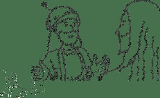 Bible, Jesus, God, Cartoon, Story