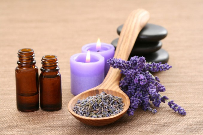 Lavender, Oil, Candles, Stones, Herbs, Organic