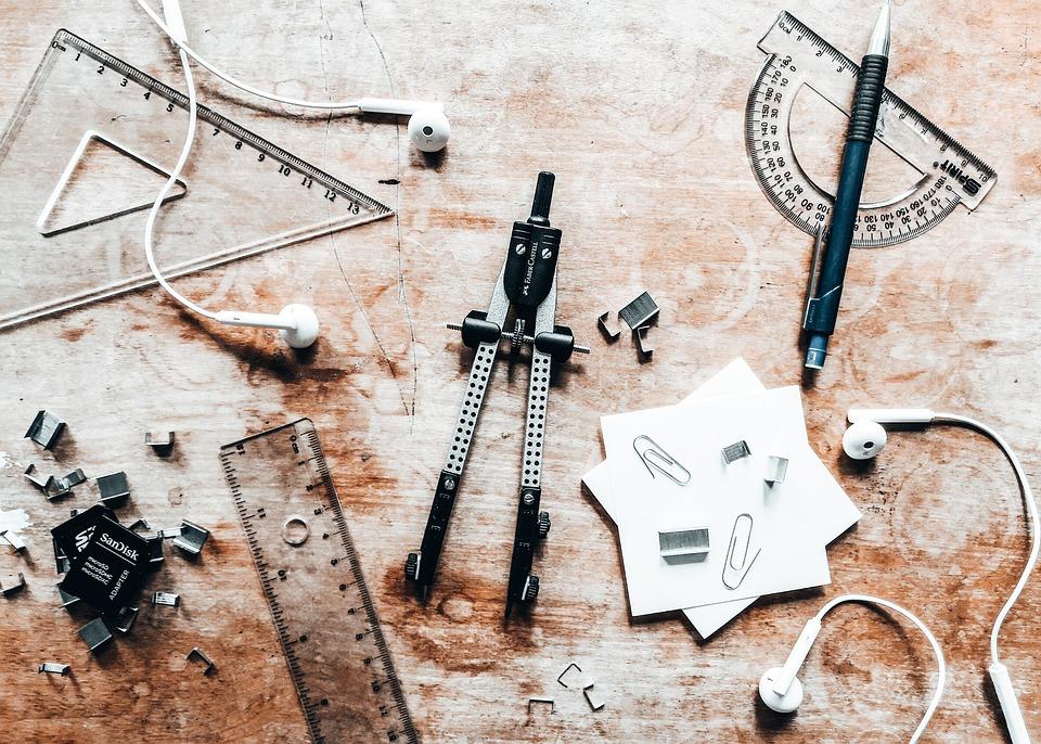 Architecture Tools Equipment Free Photo On Pixabay