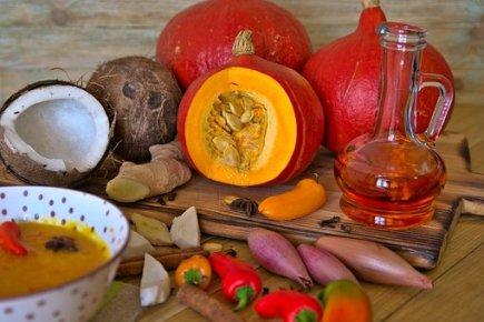 Soup, Pumpkin Soup, Pumpkin, Ginger