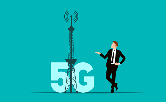 Network, 5G, Connect, Technology, Wave