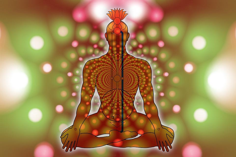 Chakras, Body, Yoga, Energy Points, Energy Centers