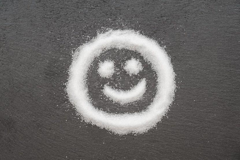 Sugar, Sweet, Face, Emojji, Smiley, Calories, Unhealthy