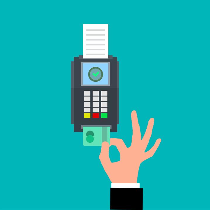 Credit Card Terminal, Credit Card, Payment