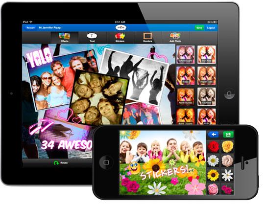 Pizap IPad App IPad Photo Editor Amp Collage Maker IPad