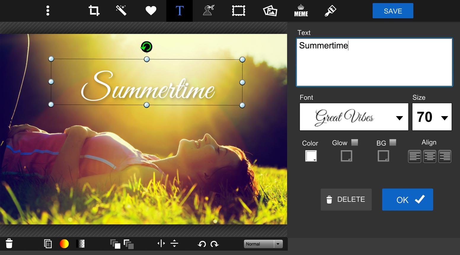 Add Text To Photos Online Photo Editor PiZap