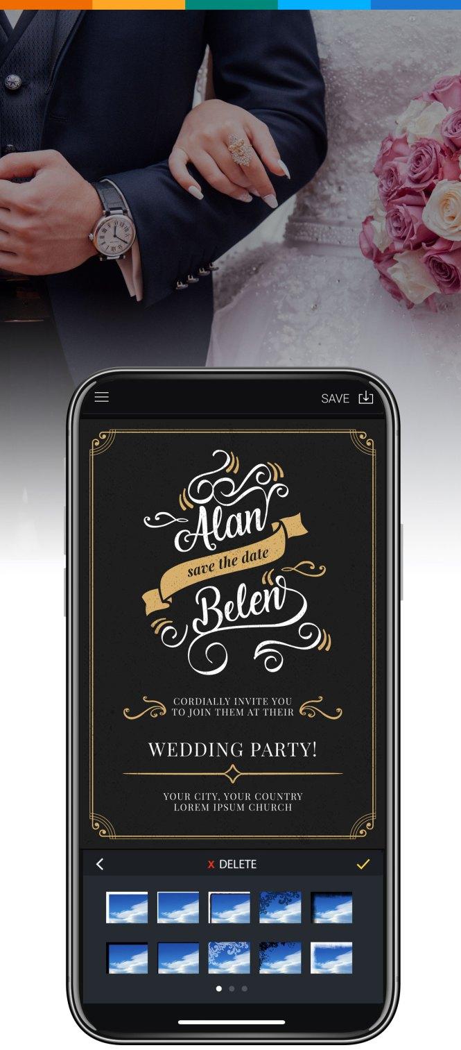Wedding Invitation Maker Design