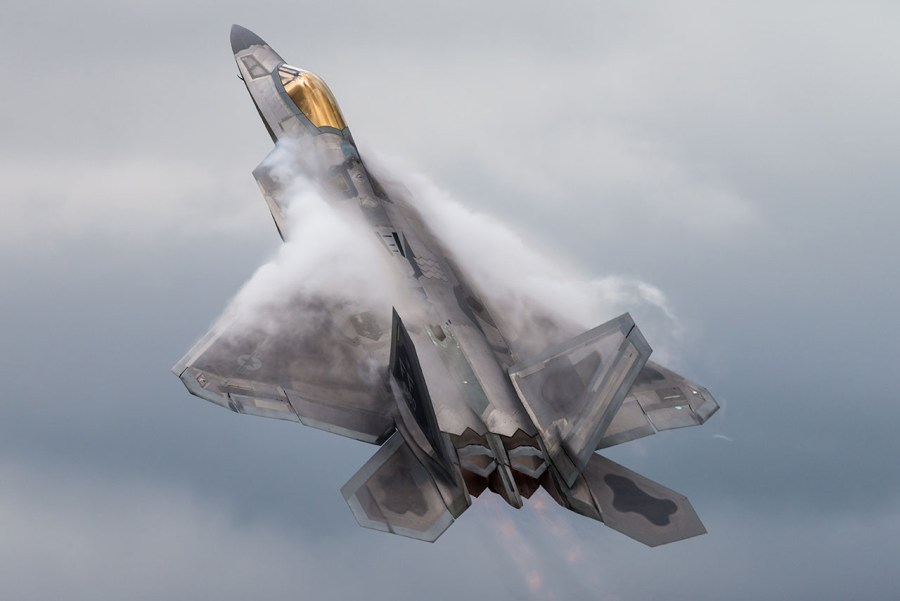 f22 raptor fighter jet - United States Has Flown A Brand-New Fighter Jet