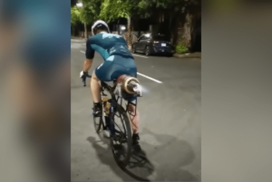 Turbojet Bicycle 300x201 - Put A Turbojet On A Bicycle. This Guy Did It. Here's Video Proof!