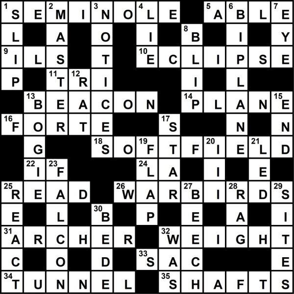 crossword39solution 600x600 - October 2021 Crossword Key