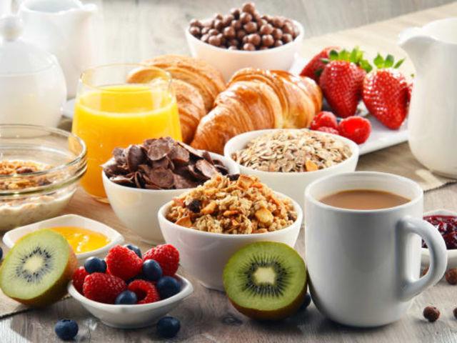 Escolha seu café da manhã: