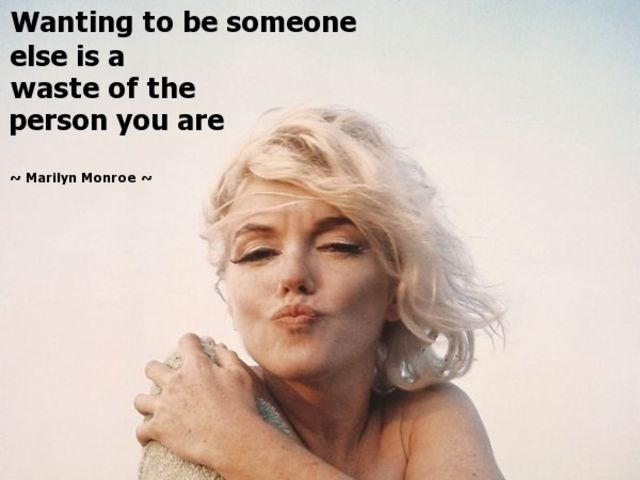 Can You Guess Which Of These Quotes Attributed To Marilyn Monroe Are     x